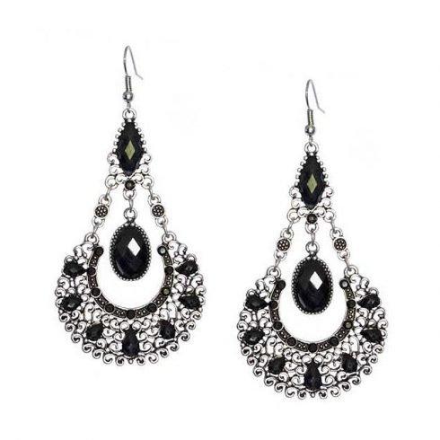 Bohemian-fashion-oorhangers-zwart (2)