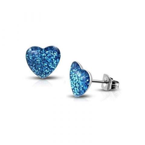Hartjes-oorknoppen-met-glitters-blauw-2g