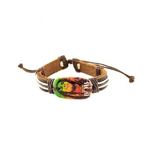 Be happy Bob Marley armband