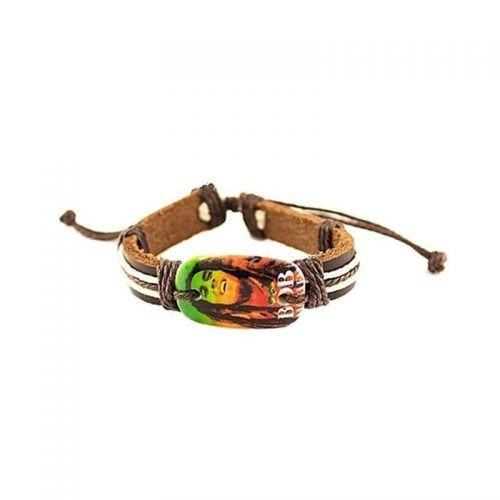 Be happy Bob Marley armband