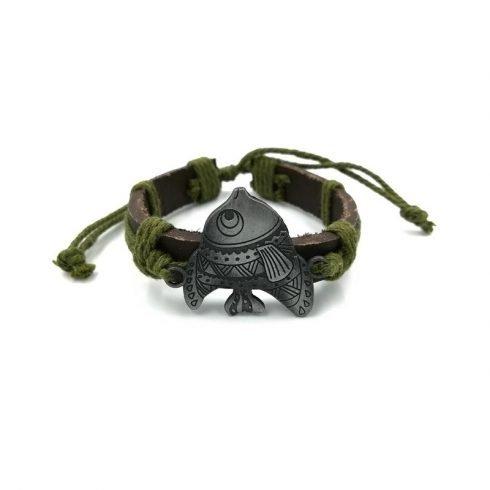 Grote-vis-armband-groen
