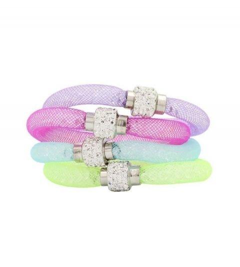 Kristal-armbanden-4-delige-set