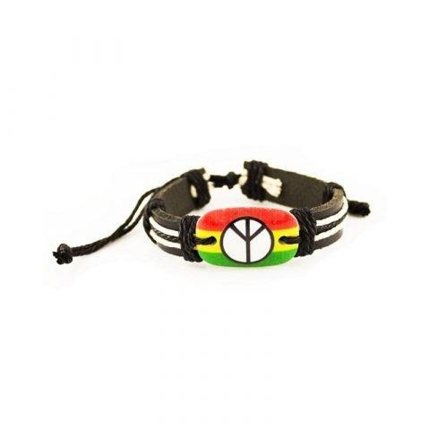 Rasta-Peace-armband