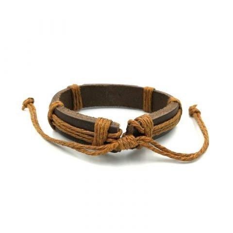 Schildpadjes-armband-bruin-achterkant