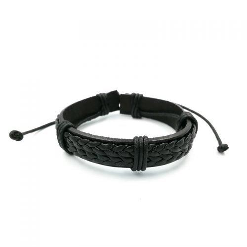 Surfer-armband-zwart