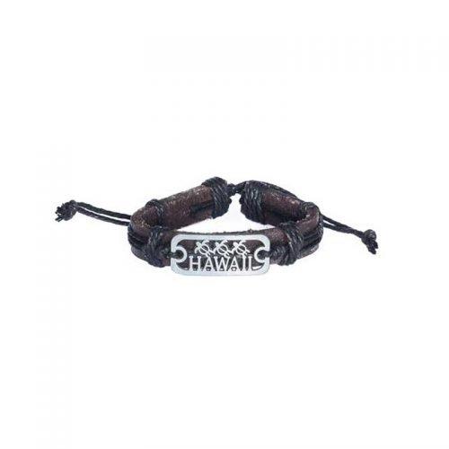 hawaii-en-schildpad-leren-armband