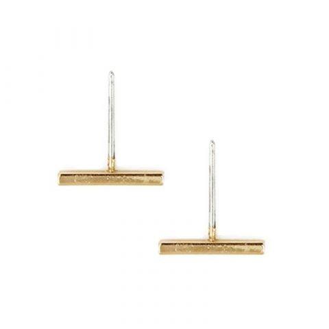 Minimalistische-balk-staafje-oorknopjes-goudkleurig