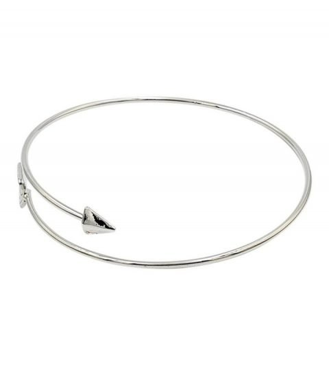 Pijl-armband-bohemian-stijl-zilverkleurig-zij-l-s
