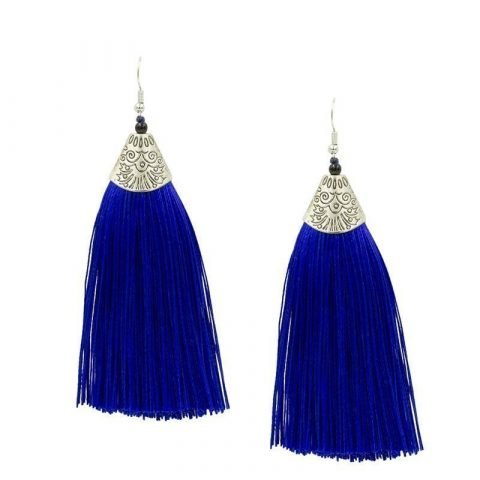 Kwast-oorbellen-blauw