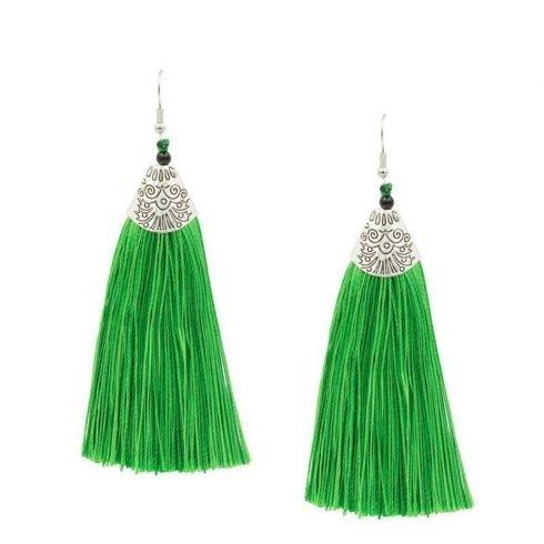 groene-kwast-oorbellen-