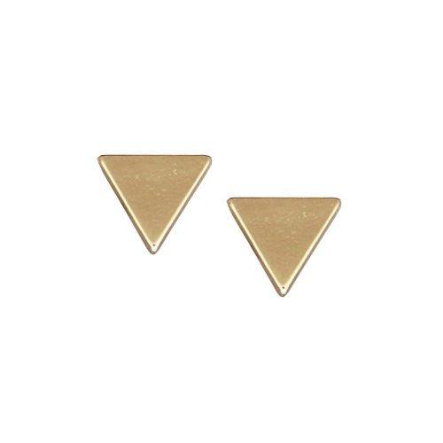 driehoek-oorknopjes-goudkleurig