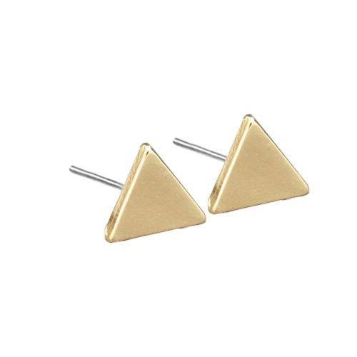 driehoek-oorknopjes-goudkleurig-zij