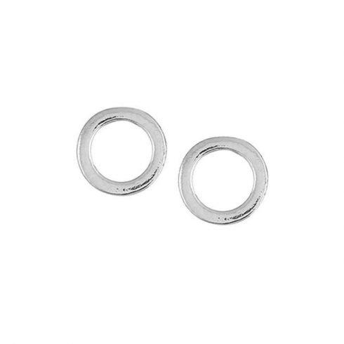 ronde-oorknopjes-zilverkleurig