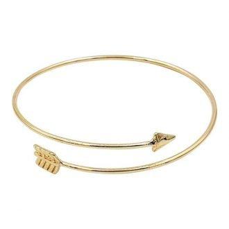 Pijl armband bohemian stijl goudkleurig