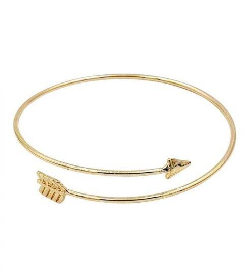Pijl-armband-bohemian-stijl-goudkleurig-voor