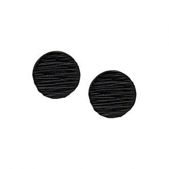 Punk oorbellen zwart