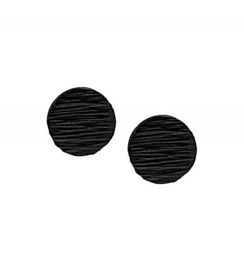 minimalistische-ronde-oorbellen-zwart