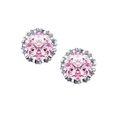 Ronde-kroon-oorbellen-roze-gr