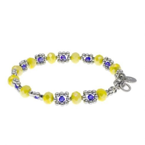 kralen-armband-geel-blauw-achter