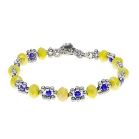 kralen-armband-geel-blauw-voor