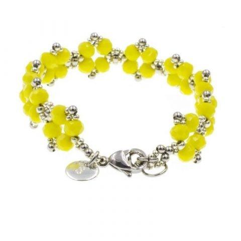 Kralen-armband-dames-geel-achterkant