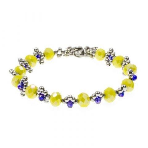 kralen-armband-geel-en-blauw
