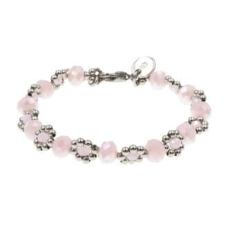 Pinkish flower armband