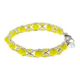 Happy yellow armband