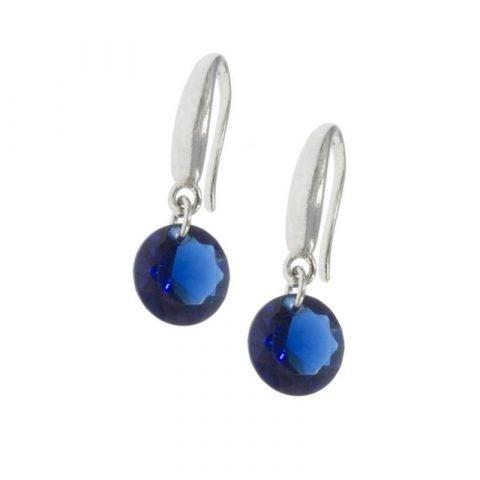Oorhangers-met-ronde-kristal-blauw