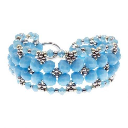 kralen-armband-imitatie-jade-blauw